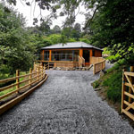 Dee Valley Breaks holiday cabin